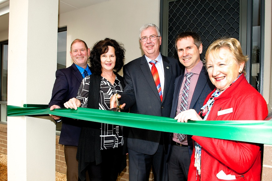 Baptcare Affordable Housing celebrates the official opening of Wangaratta