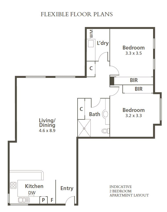 Indicative Karana residence floor plan
