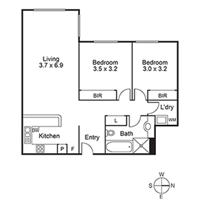 Karana RL Apartment 11 300 300